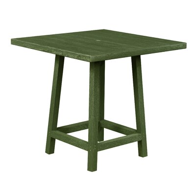 Aloa Pub Table Finish: Cactus Green