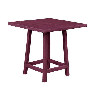 Aloa Pub Table Finish: Bordeaux