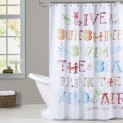 Jackson Live In The Sunshine Shower Curtain