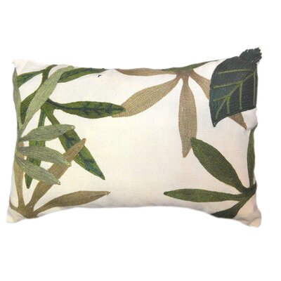 Keeler Embroidered Lumbar Pillow