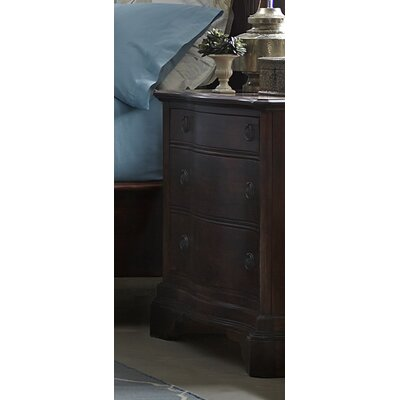 Harrouda 3 Drawer Nightstand