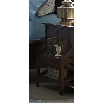 Harrouda 1 Drawer Nightstand