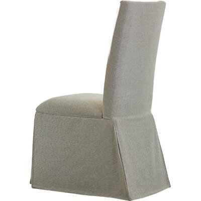 Harrouda Upholstered Dining Chair Frame Finish: White