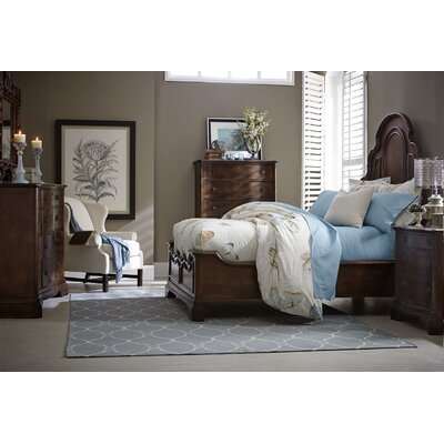 Harrouda Wood Panel Configurable Bedroom Set