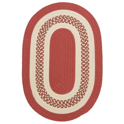 Rockport Terracotta Indoor/Outdoor Rug Rug Size: Oval Runner 2 x 12