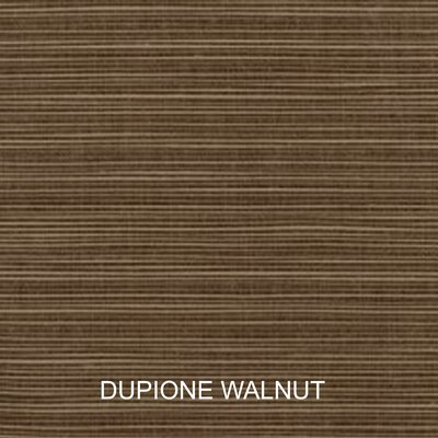 Outdoor Sunbrella Sofa Cushion Fabric: Dupione Walnut