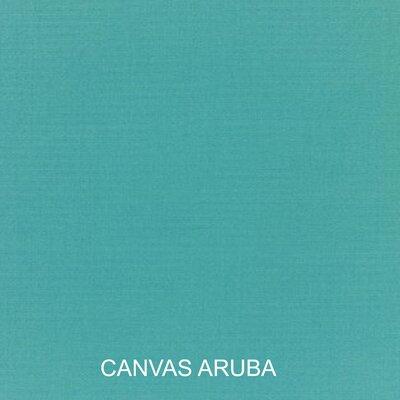 Pillow and Cushion 6-pc Sofa Cushion Fabric: Canvas Aruba