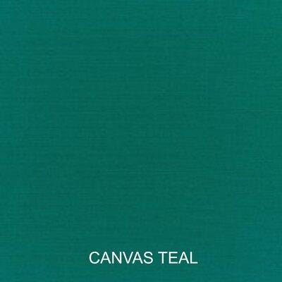 Pillow and Cushion 6-pc Sofa Cushion Fabric: Canvas Teal