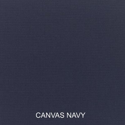 Outdoor Sunbrella Sofa Cushion Fabric: Canvas Navy