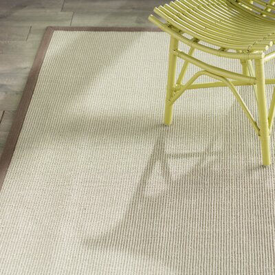 Greene Hand-Loomed Taupe / Light Brown Area Rug Rug Size: Rectangle 9 x 12