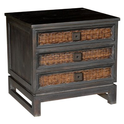 Colebrook 3 Drawer Nightstand