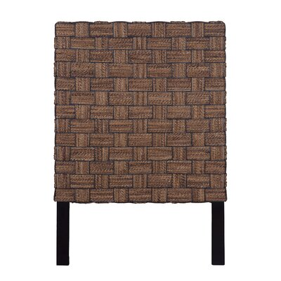 Mamani Abaca Panel Headboard Size: Twin