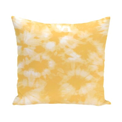 Pembrook Floral Throw Pillow Size: 16 H x 16 W, Color: Yellow