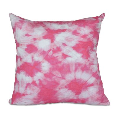 Pembrook Floral Throw Pillow Size: 16 H x 16 W, Color: Pink
