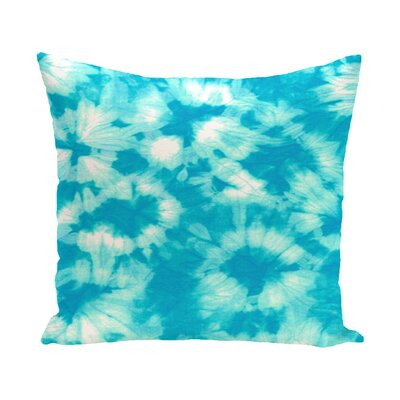 Pembrook Floral Throw Pillow Color: Turquoise, Size: 26 H x 26 W