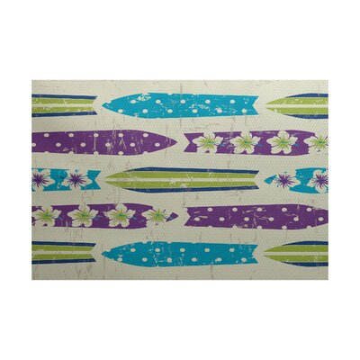Pembrook Indoor/Outdoor Area Rug Rug Size: 5 x 7