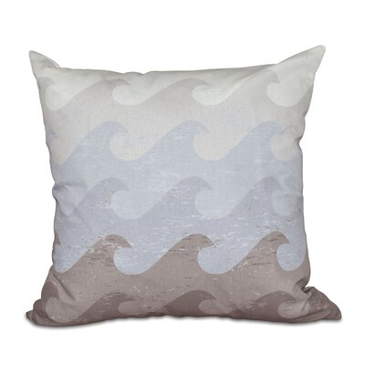 Pembrook Deep Sea Throw Pillow Size: 16 H x 16 W, Color: Taupe/Gray