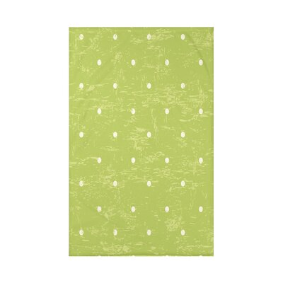 Pembrook Dorothy Dot Geometric Throw Blanket Size: 60 L x 50 W x 0.5 D, Color: Light Green
