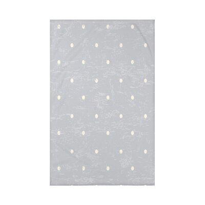 Pembrook Dorothy Dot Geometric Throw Blanket Size: 60 L x 50 W x 0.5 D, Color: Gray