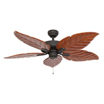 52 Killingworth 5-Blade Indoor Ceiling Fan Finish: Bronze