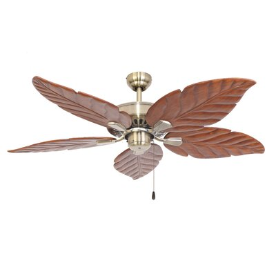 52 Killingworth 5-Blade Indoor Ceiling Fan Color: Aged Brass