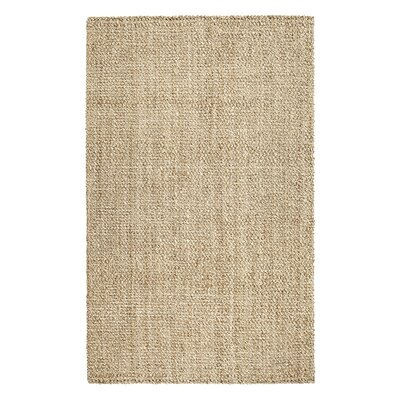 Tiverton Cascade Hand-Made Tan Area Rug Rug Size: 9 x 12