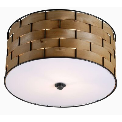 Highgate 3-Light Flush Mount