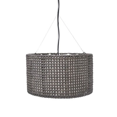 Colchester Drum Pendant Shade Color: Gray