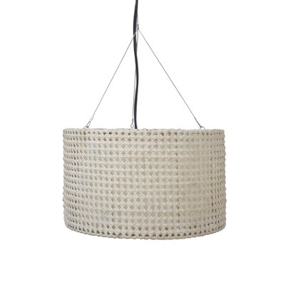 Colchester Drum Pendant Shade Color: White
