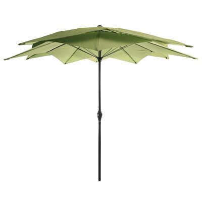 Eastham 8.5 Lotus Umbrella Color: Olive