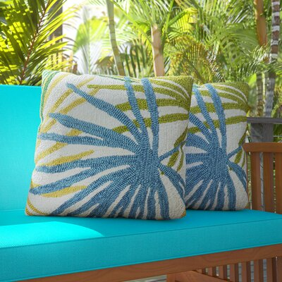 Bermudiana Indoor/Outdoor Synthetic Throw Pillow
