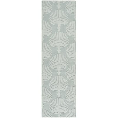 Edgartown Gray Area Rug Rug Size: Runner 23 x 8