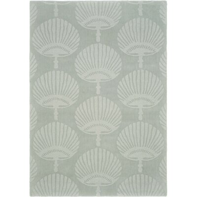 Edgartown Gray Area Rug Rug Size: 76 x 96