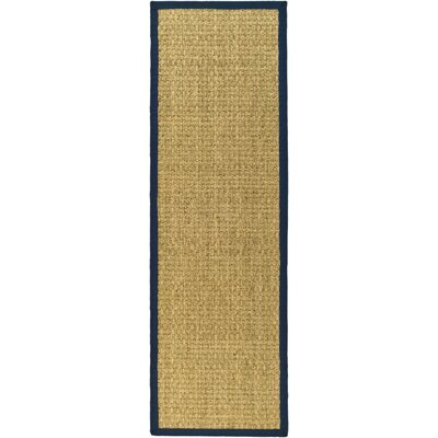 Greene Traditional Hand Woven Brown Area Rug Rug Size: Runner 26 x 8