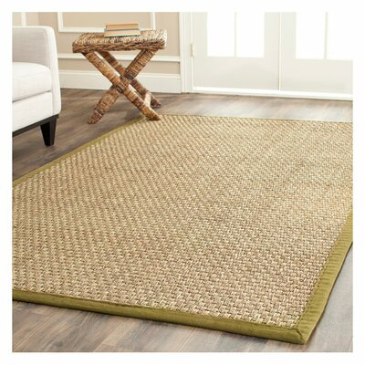 Greene Hand Woven Brown Area Rug Rug Size: 8 x 10
