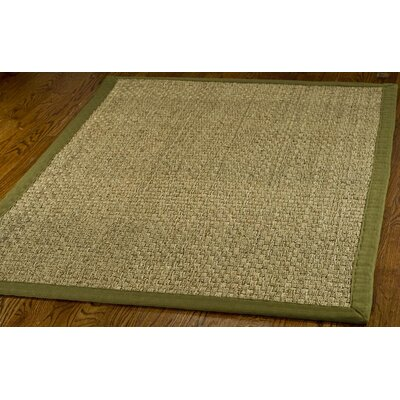 Greene Hand Woven Brown Area Rug Rug Size: 4 x 6