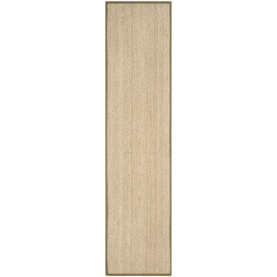 Greene Traditional Brown Area Rug Rug Size: Runner 26 x 12