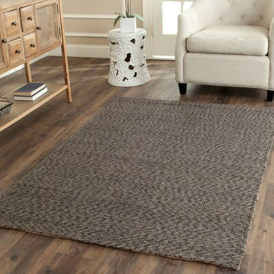 Greene Grey / Grey Contemporary Rug Rug Size: 8 x 10