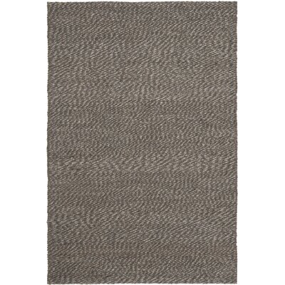 Greene Black / Gray Area Rug Rug Size: Rectangle 4 x 6
