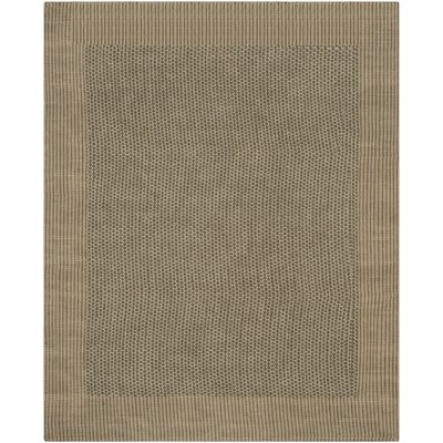 Greene Charcoal / Green Contemporary Rug Rug Size: Rectangle 8 x 10