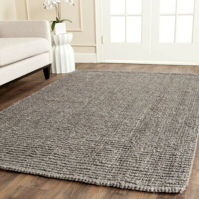Greene Hand-Woven Gray Indoor Area Rug Rug Size: Rectangle 4 x 6