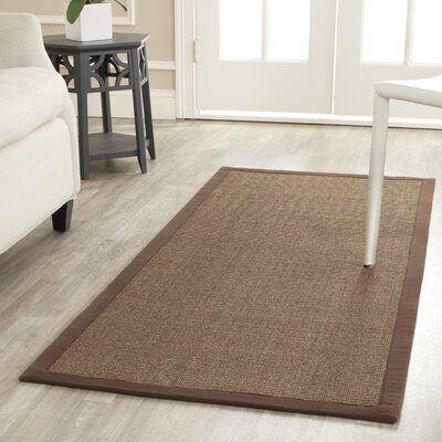 Greene Contemporary Brown Area Rug Rug Size: 9 x 12