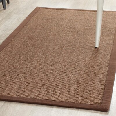 Greene Contemporary Brown Area Rug Rug Size: Rectangle 9 x 12