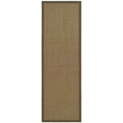Greene Contemporary Brown Area Rug Rug Size: Runner 26 x 8