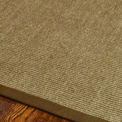 Belhaven Contemporary Brown Area Rug Rug Size: 6 x 9