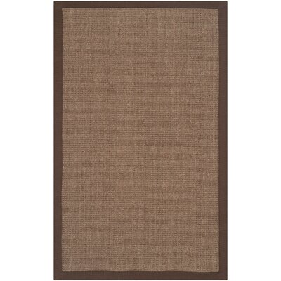 Greene Contemporary Brown Area Rug Rug Size: Rectangle 4 x 6