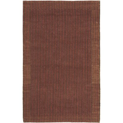 Greene Contemporary Brown/Rust Area Rug Rug Size: 3 x 5