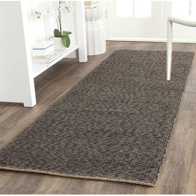 Greene Black / Gray Area Rug Rug Size: Rectangle 8 x 10