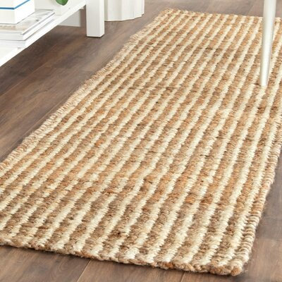 Belhaven Contemporary Ivory Area Rug Rug Size: 23 x 4