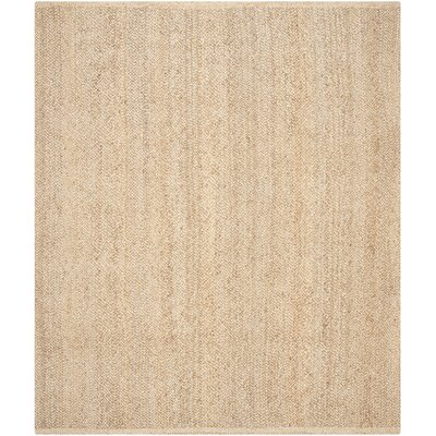 Greene Natural Solid Rug Rug Size: 8 x 10